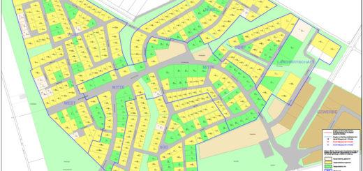 Grundstücksvormerkungsplan Stand 1.2.2012