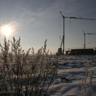 Manheim-Neu im Schnee